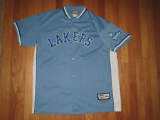 Vtg Los Angeles Lakers Hardwood Classic Shooting Jersey Adult XL **MINT**