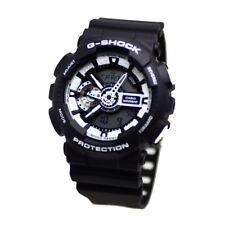 Casio Analog-digital Sport Mens Watch G Shock Black Ga-110bw-1a