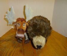 2 New Disney Plush Toys: Moose Tuke - Brother Bear & Scout - Disneynature Bears