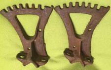 Antique ~ John Deere ~ Harrow / Plow ~ Lbracket ~ Cast Iron ~ Steampunk Art