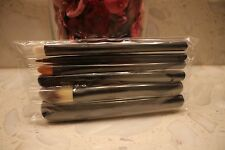 MAC Look in a Box Basic Brush Set powder concealer eyeshadow liner 6pcs set