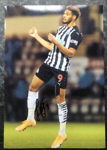 Joelinton Hand Signed 12x8 2020/21 Newcastle United Photo