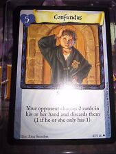 HARRY POTTER TRADING CARD GAME TCG BASE SET CONFUNDUS 47/116 UNCO ENGLISH MINT