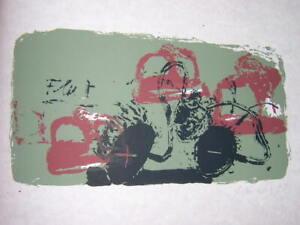 Neo Rauch, Flut, Orig.-Farbserigraphie, 1991, handsign.