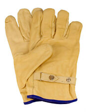 6 Paar Rind-/Vollleder - Handschuhe, Größe:10, durchgehend gefüttert (CE)
