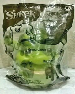 Shrek Squeeze Head Just Premiums 2003 DreamWorks Red Rooster Meal Toy Australia