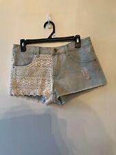 Jrs. Blue Asphalt denim shorts size 9