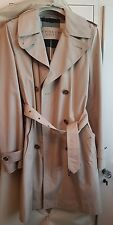 Burberry BRIT WOMEN'S beige trench taglia UK10