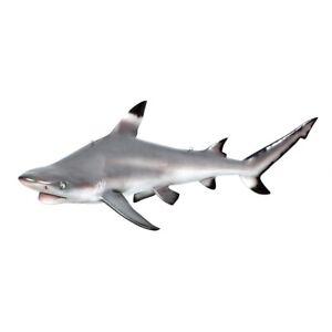 "Large 45.5"" inch Blacktip Shark Ceiling Mount Trophy Sculpture Statue prop"