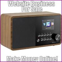 Fully Stocked INTERNET RADIOS Website Business|FREE Domain|FREE Hosting|Traffic