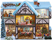 Jigsaw Puzzle Seasonal Christmas Eve House Freeform 1000 pieces NEW Made in USA