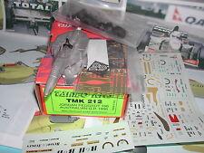 KIT à monter TAMEO F1 JORDAN PEUGEOT 196 AUSTRALIE BRUNDLE BARICHELLO 1996 1/43°