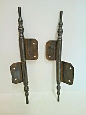 Pair Of Hettich Iron Forge Hand for Door Wardrobe Buffet 19th