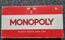 Waddingtons 1970s Vintage Monopoly 100% Complete!!!!