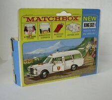 REPRO BOX MATCHBOX KING SIZE K - 6 AMBULANCE BINZ