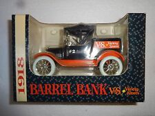 ERTL V&S VARIETY STORES 1918 BARREL LOCKING COIN BANK #3857