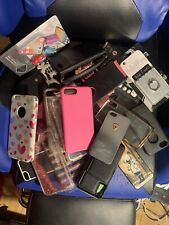 RANDOM IPHONE CASE LOT For iPhone 5, 6, 7, 8, 11 , 12 + Accessories !