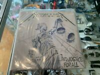 """METALLICA - AND JUSTICE FOR ALL 12"""" (2-LP) (EURO PRESSING) (LP 9 TRACKS , 1988)"""