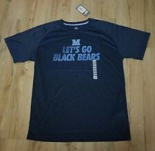 Maine University Black Bears Knights Apparel Polyester Athletic T-Shirt size-L