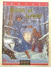 le prive d'hollywood 7 retour de flamme  + poster 1990 dupuis eo