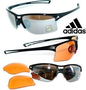 Adidas SONNENBRILLE Raylor SCHWARZ a404 4 SCHEIBEN RAD SPORT 168 a137 BRILLE 405