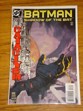 BATMAN SHADOW OF THE BAT #73 VOL2 DC COMICS CATACLYSM APRIL 1998