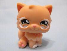Littlest Pet Shop Cat Persian 490 Diamond Eyes Authentic Lps