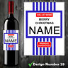 Personalised Tesco Value Wine Label, Funny, Spoof, Perfect Christmas Gift