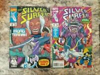Silver Surfer 80 & 82 Marvel Comics Tyrant First Appearance NM Free Shipping