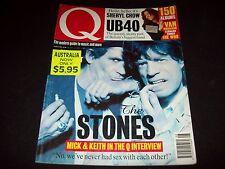 Q Magazine - Rolling Stones Feature Special