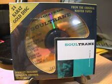 24K Gold CD DCC GZS-1046  John Coltrane Soultrane Sealed Japan