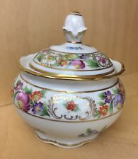 Sugar Bowl & Lid Empress Dresden Flowers by SCHUMANN - BAVARIA