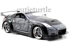 Jada Fast and Furious DK Nissan 350Z 1:24 Diecast Model Car 97172 Grey Black