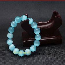 Blue Opal Natural Beads 8mm Bracelet