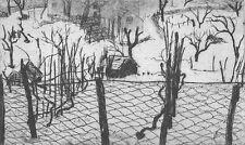 CHIANESE Mario (Genova 1928), Racconto d'inverno