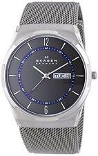 Skagen Men's Melbye Titanium Quartz Watch w/Accents Mesh Bracelet SKW6078
