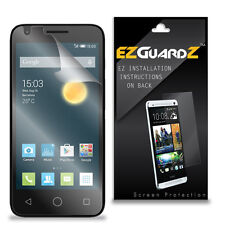 2X EZguardz LCD Screen Protector Cover HD 2X For Alcatel OneTouch Pixi 3 4.5