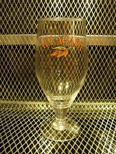 "ALLAGASH BREWING Co Portland Maine Beer .40cl Pint 7.5"" Tall Glass S"