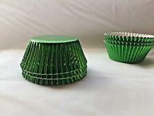 Green Foil baking Cupcake liners Approx:45