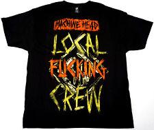 MACHINEHEAD LOCAL CREW T-shirt Machine Head Nu Metal Tee Adult 2XL Black New