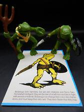 vintage 1983 tsr BULLYWUGS OF THE BOG Dungeons & Dragons monster figures LJN !!