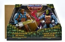 Masters of the Universe Classics-Laser power he-man & Lumière Laser squelettor Set