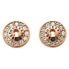 Guess All Locked Up Crystal Stud Earrings UBE71331