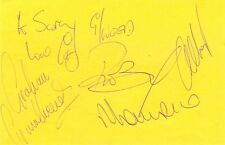 The Grumbleweeds + Frank Windsor signed autograph album page British comedy band
