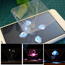 3D Holographic Hologram Display Pyramid Projector Video for Smart Phone &Tablet