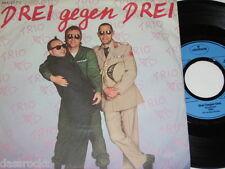 """7"""" - Trio / Drei gegen Drei & Wahnsinn V 1 - Lyrics 1985 # 0420"""