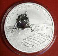 Australien 1 Dollar 2019 Moon Landing 1969-2019 Silber 1 oz  #F3771 ST-BU