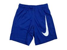 Nike Toddler/Youth Boys Performance Big Swoosh Shorts Blue/White New 762851-U89