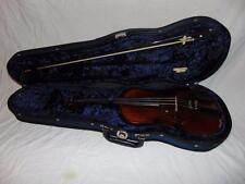 Violmaster Amati Violin 3/4 size w/ case & bow adjustable Teller Germany
