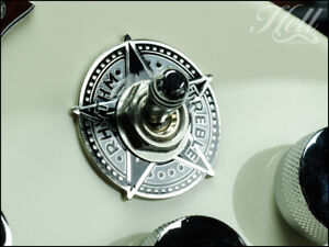 STAR Toggle Switch Washer Ring. Fits most Gibson, Epiphone Les Paul, SG More.